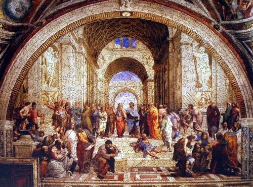 The School of Athens - Liberty Puzzles - 7