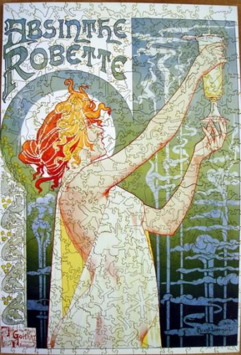 Absinthe Robette - Liberty Puzzles - 5