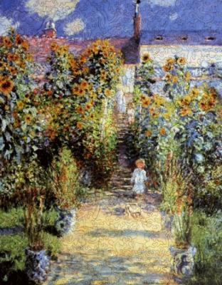 The Artist's Garden at Vetheuil - Liberty Puzzles - 7
