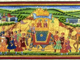 Procession of Akbar, King of the Mughals - Liberty Puzzles - 2