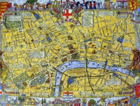 Map of London - Liberty Puzzles - 2
