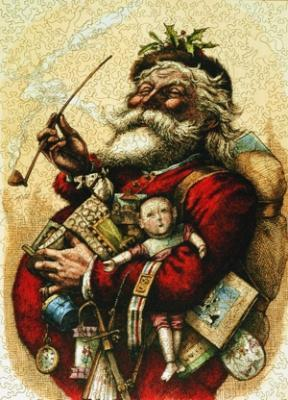 Merry Old Santa Claus - Liberty Puzzles - 7