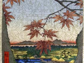 Maple Trees with Tekona Shrine - Liberty Puzzles - 12