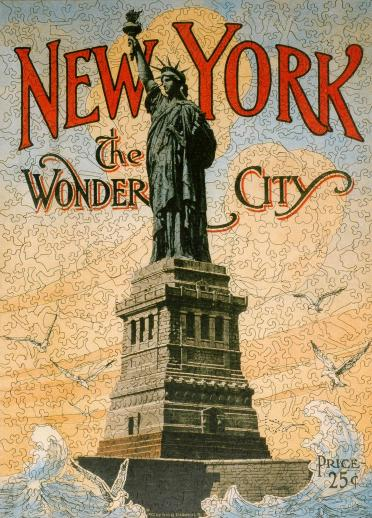 New York the Wonder City - Liberty Puzzles - 7