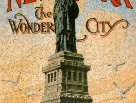 New York the Wonder City - Liberty Puzzles - 2