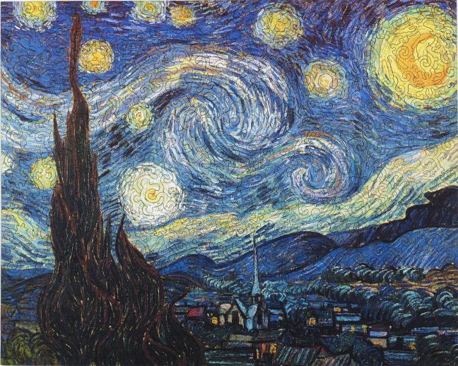 Starry Night - Liberty Puzzles - 7