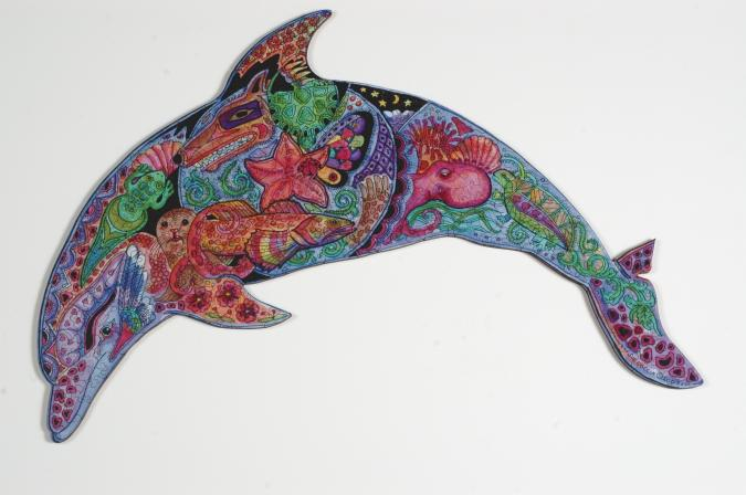Dolphin - Liberty Puzzles - 7