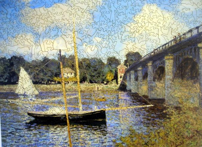 Bridge at Argenteuil - Liberty Puzzles - 7