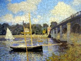 Bridge at Argenteuil - Liberty Puzzles - 2