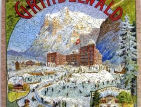 Grindelwald Winter Sport - Liberty Puzzles - 2