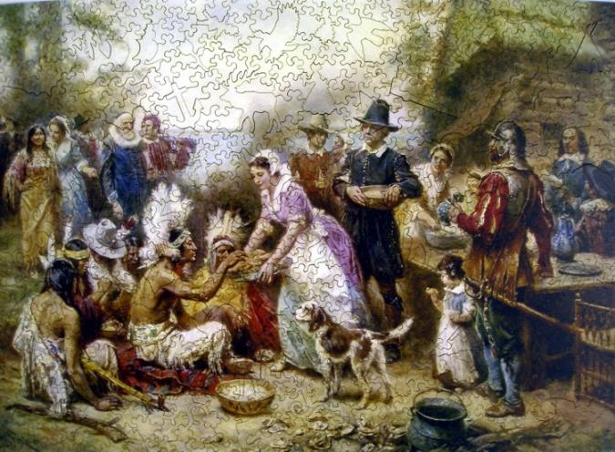 The First Thanksgiving, 1621 - Liberty Puzzles - 7