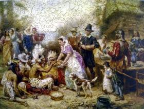 The First Thanksgiving, 1621 - Liberty Puzzles - 2
