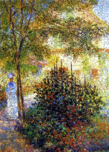 Camille Monet in the Garden - Liberty Puzzles - 7