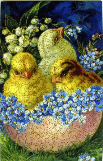 Easter Egg Chicks - Liberty Puzzles - 7