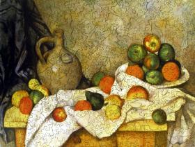 Still Life with Curtain, Jug, and Compotier - Liberty Puzzles - 2