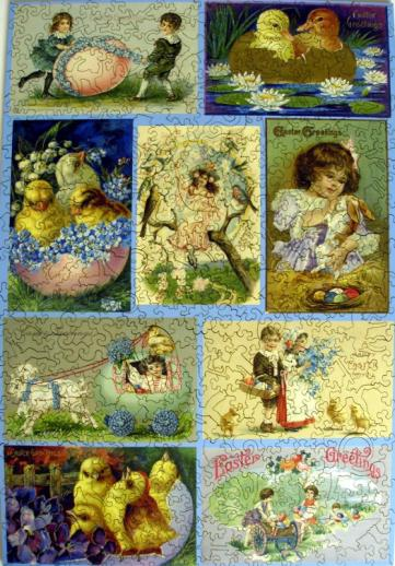 Easter Collage - Liberty Puzzles - 7