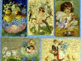 Easter Collage - Liberty Puzzles - 2