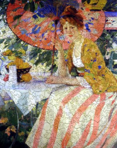Red-Headed Girl with Parasol - Liberty Puzzles - 7