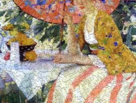 Red-Headed Girl with Parasol - Liberty Puzzles - 2
