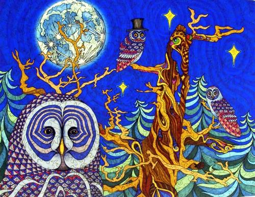 The Night Owls - Liberty Puzzles - 7