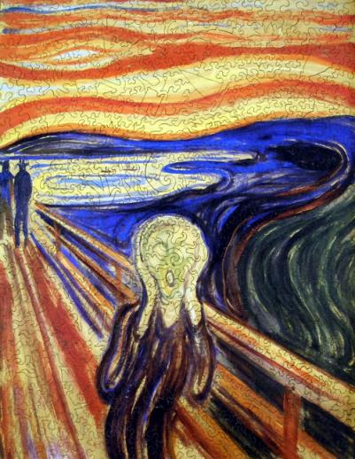 The Scream - Liberty Puzzles - 7