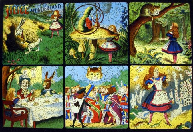 Alice in Wonderland collage - Liberty Puzzles - 7