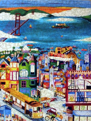 Hills of San Francisco - Liberty Puzzles - 7