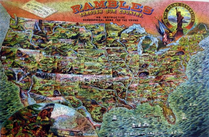 Rambles Through Our Country - Liberty Puzzles - 7