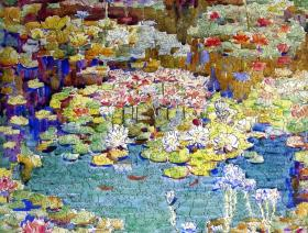 water-lilies-puzzle-750.jpg #2