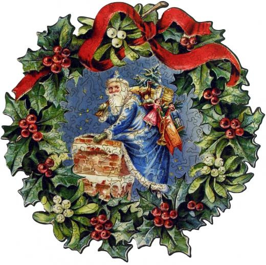 Christmas Wreath - Liberty Puzzles - 7