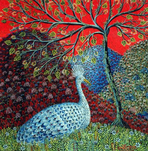 peacock-with-locusts-puzzle-XL.jpg #7