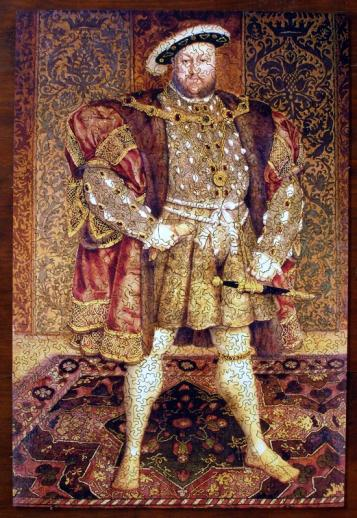 Portrait of Henry VIII - Liberty Puzzles - 7