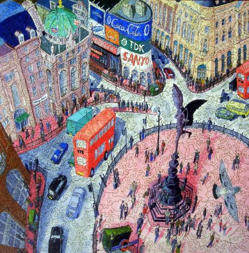 Piccadilly Circus - Liberty Puzzles - 7