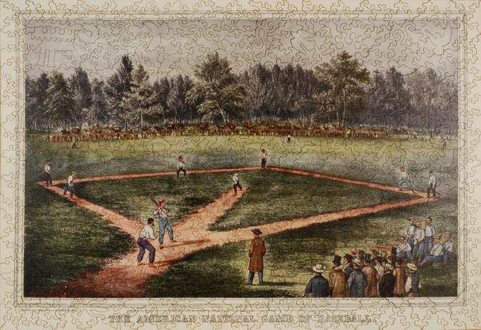 The American National Game of Baseball - Liberty Puzzles - 7