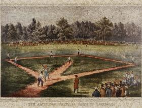 The American National Game of Baseball - Liberty Puzzles - 2
