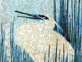 An Egret Among the Rushes - Liberty Puzzles - 2