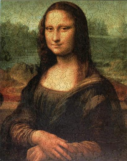 Mona Lisa - Liberty Puzzles - 7