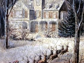 Snowy Sleigh Ride - Liberty Puzzles - 2
