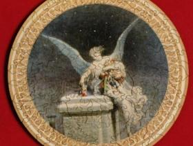 Christmas Angel round - Liberty Puzzles - 2