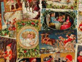 Vintage Christmas Postcards - Liberty Puzzles - 2