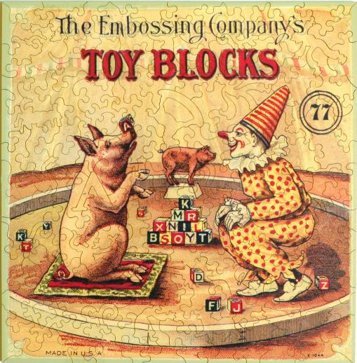Embossing Company's Toy Blocks - Liberty Puzzles - 7