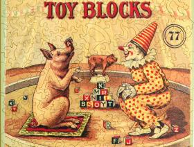 Embossing Company's Toy Blocks - Liberty Puzzles - 2