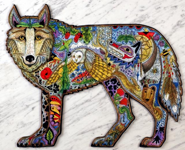 Wolf - Liberty Puzzles - 7