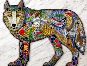 Wolf - Liberty Puzzles - 2
