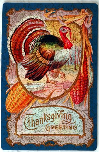 Thanksgiving Greeting - Liberty Puzzles - 7