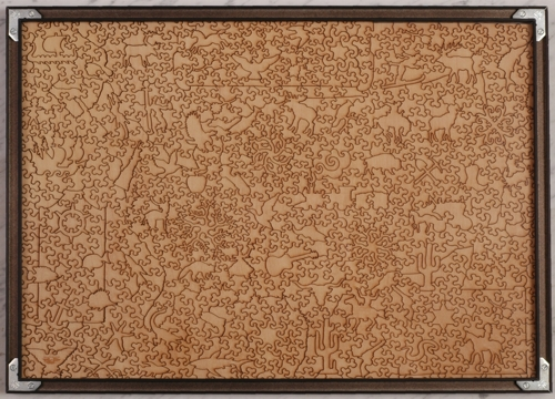 Puzzle frame (extra-large) - Wooden Jigsaw Puzzle - Liberty Puzzles ...