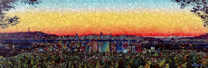 City Sunset - Liberty Puzzles - 7