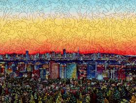 City Sunset - Liberty Puzzles - 2