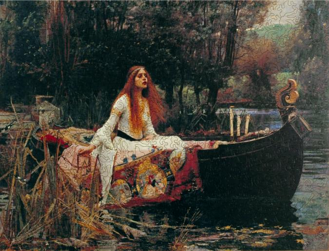 The Lady of Shalott - Liberty Puzzles - 7