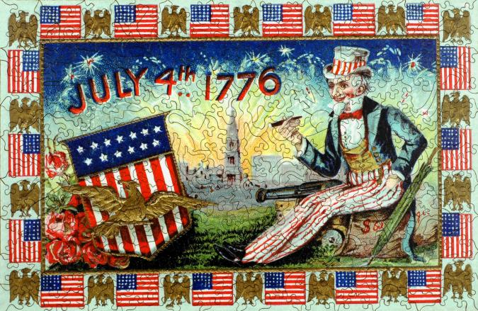 Uncle Sam's Celebration - Liberty Puzzles - 7